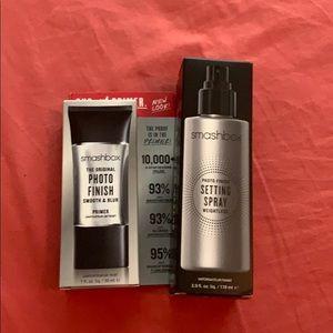 Smashbox primer and setting spray bundle!